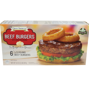 Beef Burgers with Roasted Onions image