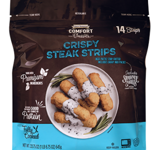 Crispy Steak Strips