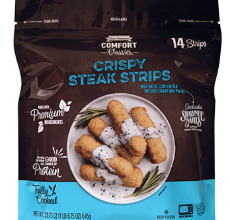 Crispy Steak Strips image